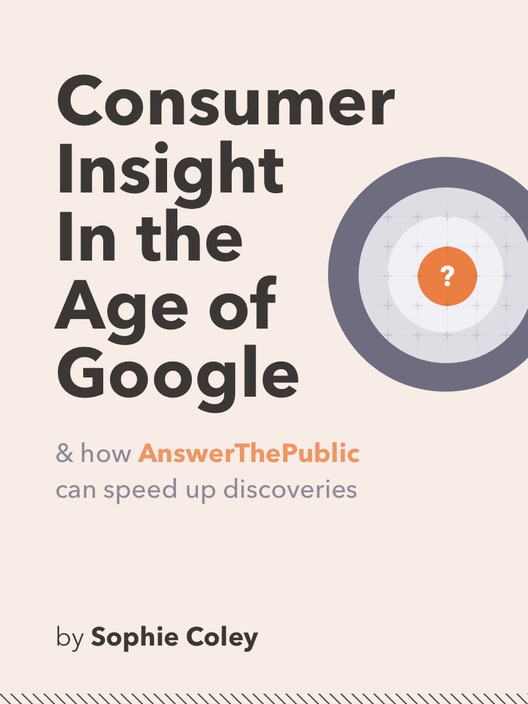 Book cover of Consumer Insight in the Age of Google